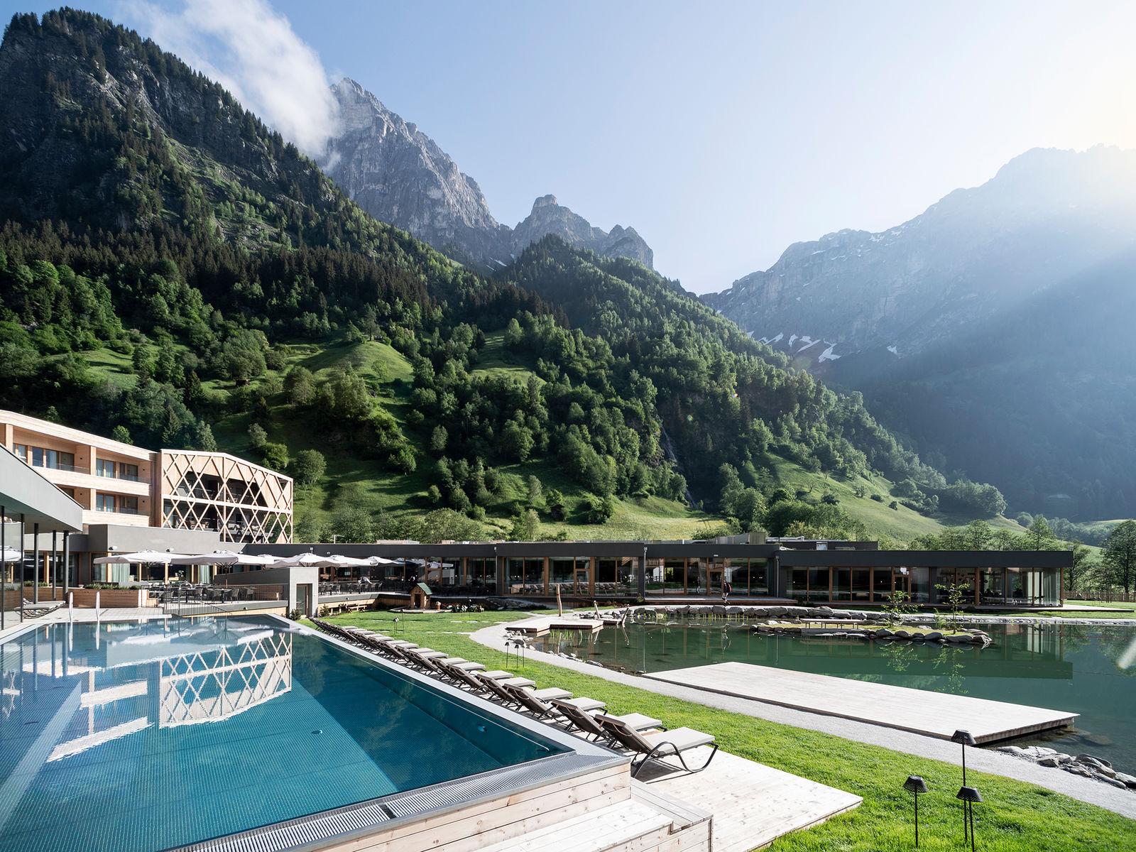 Familienhotel in s dtirol feuerstein nature family resort for Warnemunde 5 sterne hotel